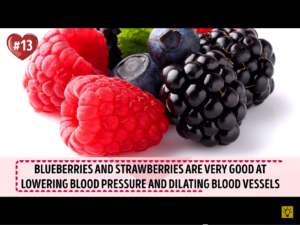 Berries Dilate Blood Vessels