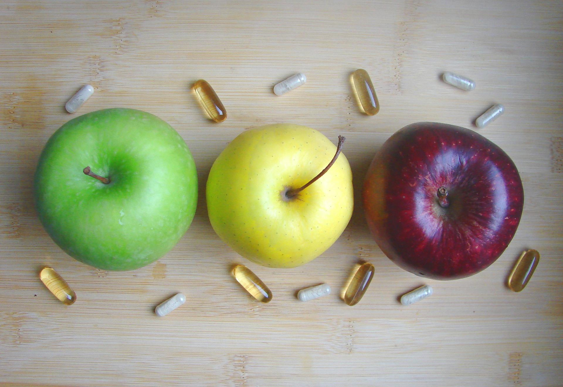 FOOD OR PILLS